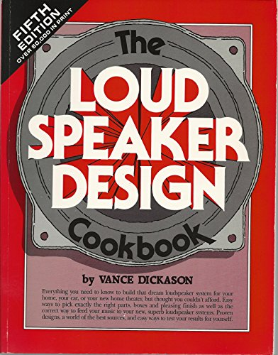 9781882580101: Loudspeaker Design Cookbook