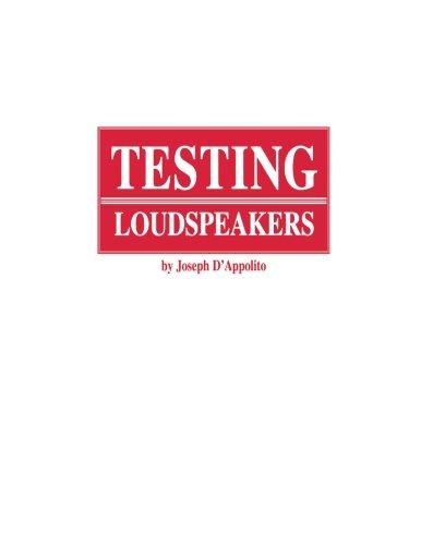 9781882580170: Testing Loudspeakers