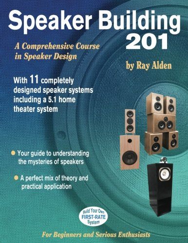 Speaker Building 201: A Comprehensive Course in: Ray Alden