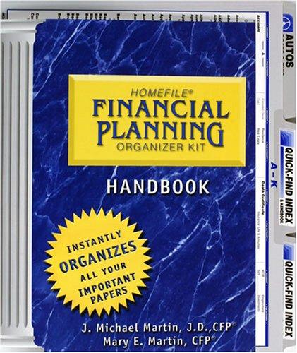 9781882584550: HOMEFILE: Financial Planning Organizer Kit
