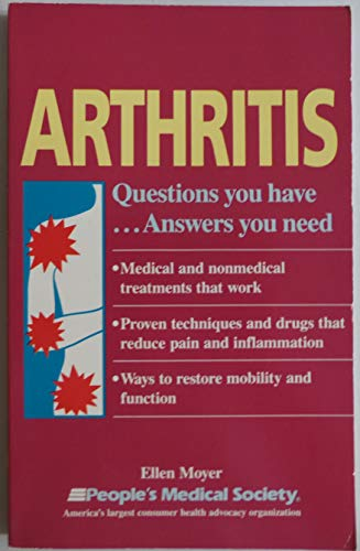 9781882606016: Arthritis: Questions You Have...Answers You Need