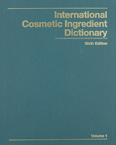 International Cosmetic Ingredient Dictionary: CTFA Staff