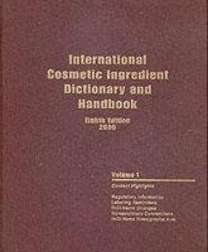International Cosmetic Ingredient Dictionary and H: Cosmetic Toiletry and