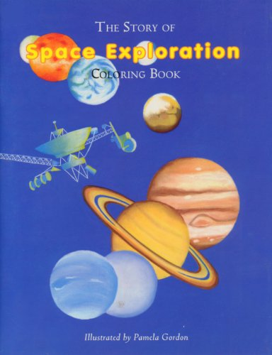 9781882663798: The Story of Space Exploration Coloring Book