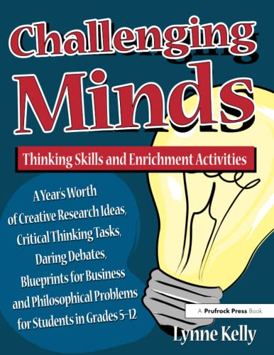 9781882664207: Challenging Minds: Thinking Skills and Enrichment Activities