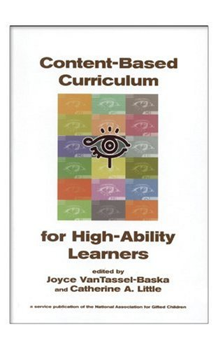 9781882664788: Content Based Curriculum for High Ability Learners