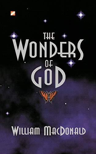 Wonders of God: William MacDonald