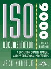9781882711130: ISO 9000 Documentation, Quality Manual and 32 Operational Procedures (AQA ISO 9000 Series)