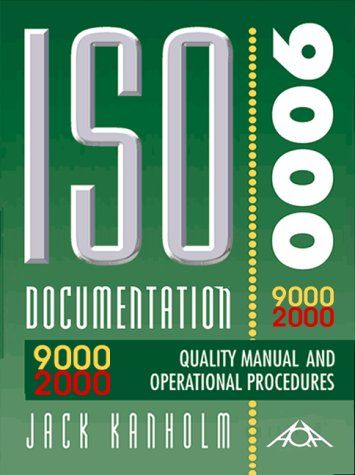 9781882711246: ISO 9001:2000 Quality Manual and Operational Procedures