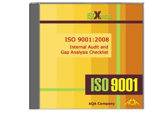 9781882711314: 9001:2008 Internal Audit and Gap Analysis Checklist
