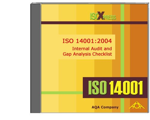 9781882711420: ISO 14001:2004 Internal Audit and Gap Analysis Checklist