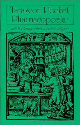 9781882742189: Tarascon Pocket Pharmacopoeia : 2001 Classic Shirt-Pocket Edition