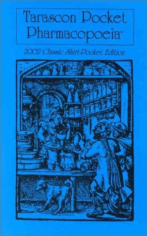 9781882742219: Tarascon Pocket Pharmacopoeia: 2002 Classic Shirt-Pocket Edition
