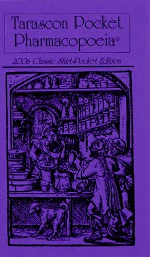9781882742424: Tarascon Pocket Pharmacopoeia, 2006 Classic Shirt-Pocket Edition