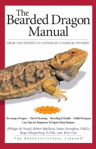 9781882770595: The Bearded Dragon Manual (Advanced Vivarium Systems)