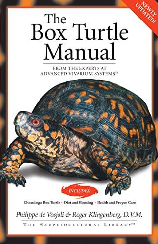The Box Turtle Manual (Herpetocultual Library): De Vosjoli, Philippe; Klingenberg, Roger J.
