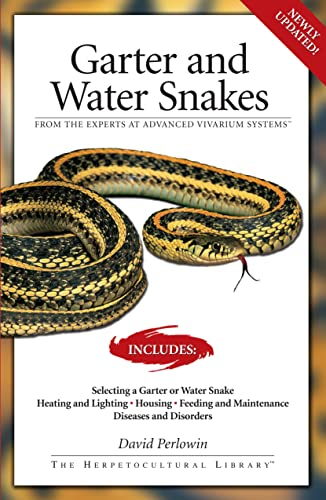 9781882770793: Garter Snakes and Water Snakes: From the Experts at advanced vivarium systems (The Herpetocultural Library)
