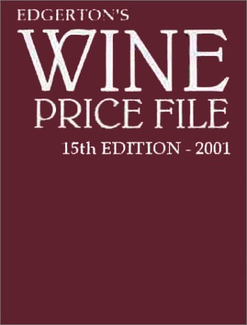 Wine Price File: Edgerton, William
