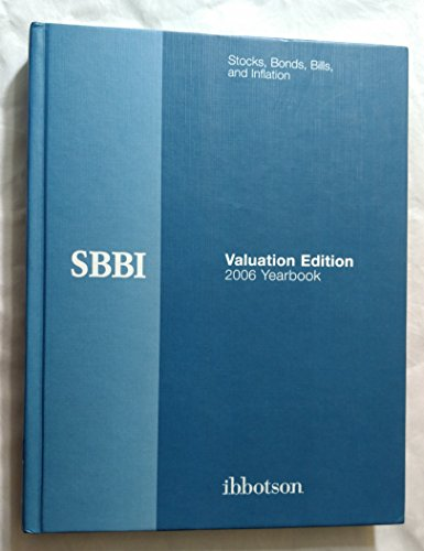 9781882864232: Stocks, Bonds, Bills, and Inflation: 2006 Yearbook, Valuation Edition