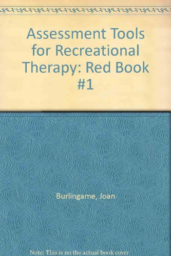 9781882883028: Assessment Tools for Recreational Therapy: Red Book #1
