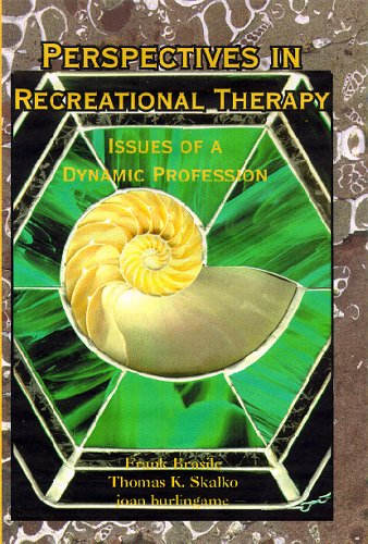 9781882883264: Perspectives in Recreational Therapy: Issues of a Dynamic Profession
