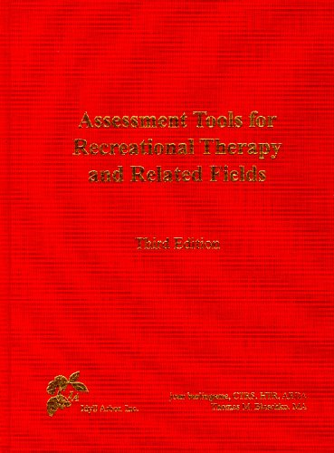 9781882883455: Assessment Tools for Recreational Therapy and Related Fields