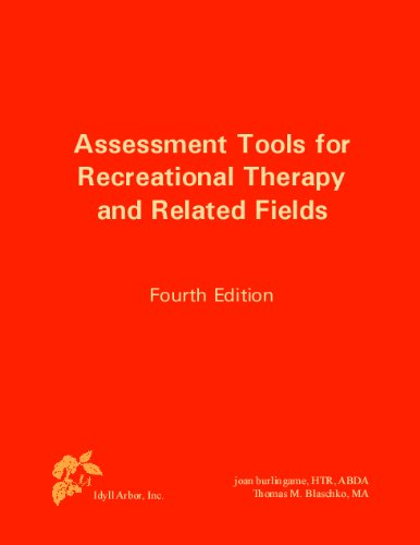 9781882883721: Assessment Tools for Recreational Therapy and Related Fields, 4th Edition