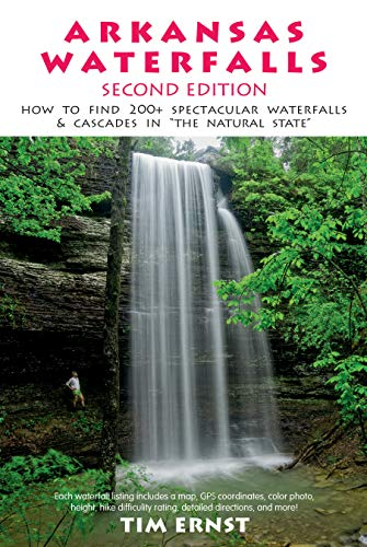Arkansas waterfalls guidebook (1882906489) by Tim Ernst