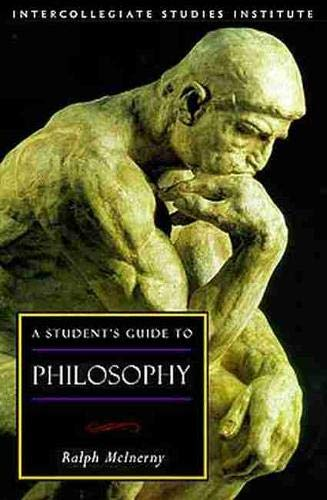 9781882926398: Students Guide To Philosophy (Guides To Major Disciplines)