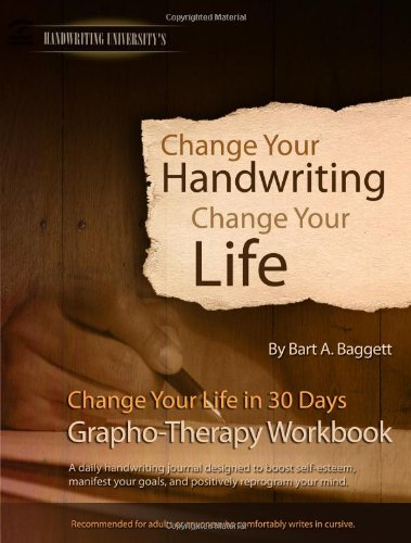9781882929146: Change Your Handwriting, Change Your Life Workbook (Grapho-therapy journal for ages 13+)