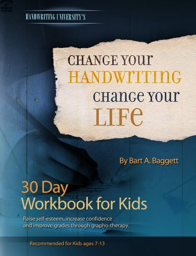9781882929153: Change Your Handwriting, Change Your Life - 30 Day Workbook Journal for Kids