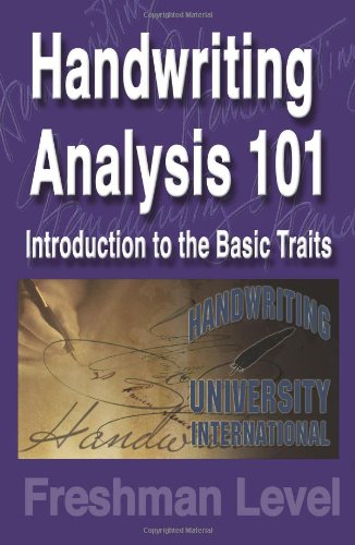 9781882929207: Handwriting Analysis 101