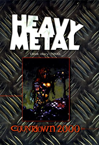 Heavy Metal Desk Diary 1999: Illustrator-Heavy Metal; Illustrator-Alfonso