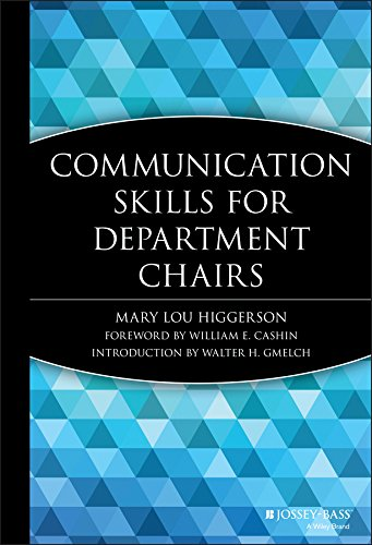 9781882982134: Communication Skills for Department Chairs