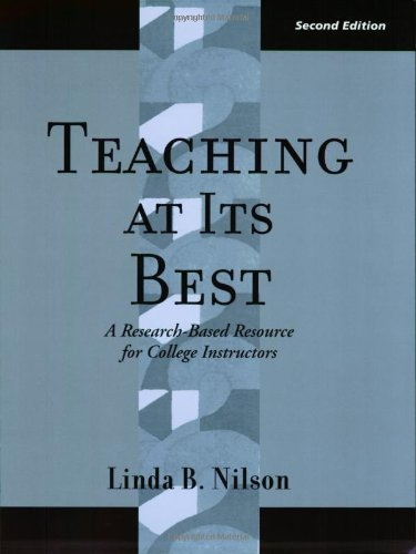 9781882982646: Teaching at Its Best: A Research-Based Resource for College Instructors (JB - Anker Series)