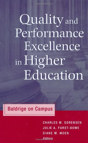 9781882982806: Quality and Performance Excellence in Higher Education: Baldrige on Campus