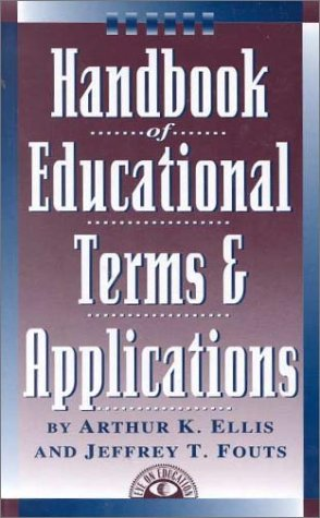 9781883001216: Handbook of Educational Terms and Applications