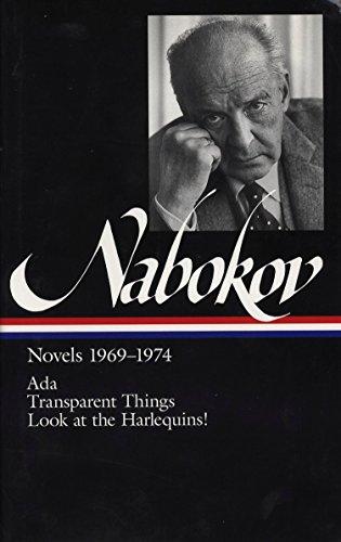 9781883011208: Vladimir Nabokov: Novels 1969-74: ADA, or Ardor / Transparent Things / Look at the Harlequins! (Library of America)