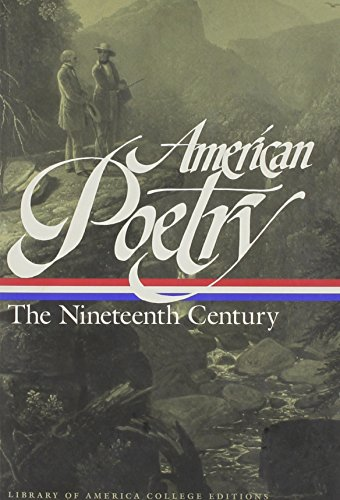 9781883011369: American Poetry: The Nineteenth Century (Library of America College Editions)