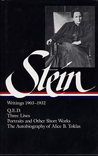 9781883011406: Stein: Writings 1903-1932