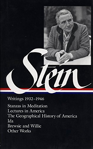 9781883011413: Gertrude Stein: Writings 1932-1946