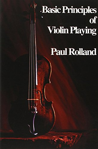 9781883026202: Basic Principles of Violin Playing