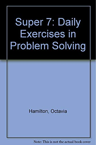 9781883055516: Super 7: Daily Exercises in Problem Solving