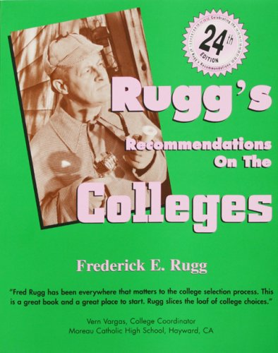9781883062675: Rugg's Recommendations on the Colleges, 24th Edition
