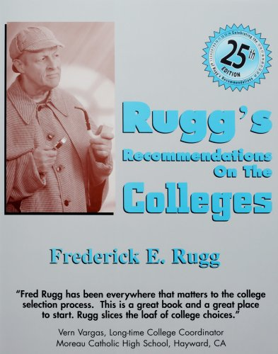 9781883062712: Rugg's Recommendations on the Colleges - 25th Edition