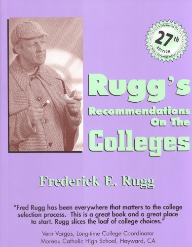 9781883062767: Rugg's Recommendations on the Colleges, 27th Edition