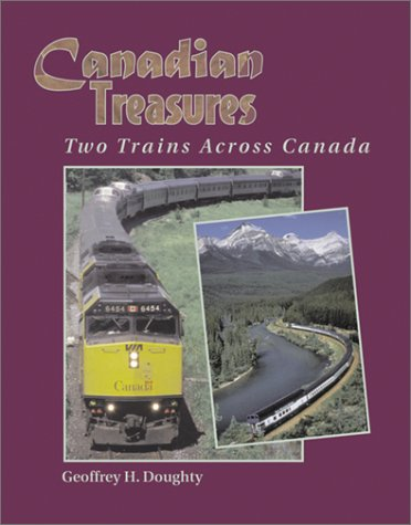 9781883089788: Canadian Treasures: Two Trains Across Canada