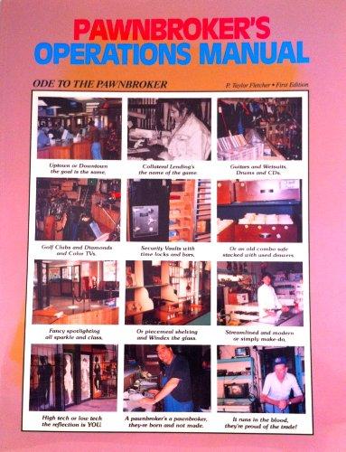 9781883103026: Pawnbroker's Operations Manual