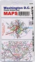 Washington, DC, Set of 2 Map Cards: Anton Miles