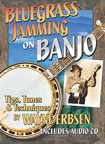 Bluegrass Jamming on Banjo book with CD: Wayne Erbsen